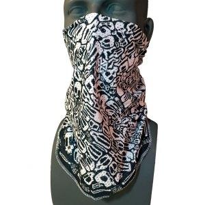 Mesh skulls bandana by Angel Rodri