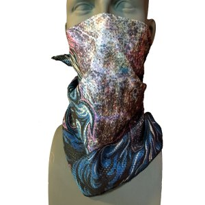 Astro Mesh Snowboarding Bandana by Mike Parillo