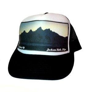 Teton Dusk trucker hat by AVALON7