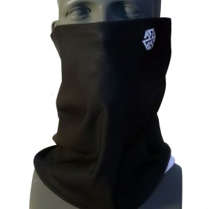 Black Bonded Fleece Tshield snowboard mask