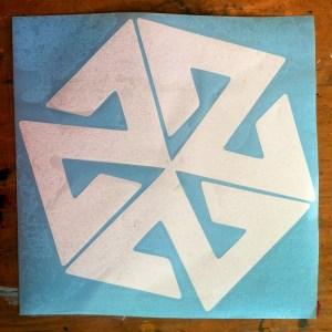 Avalon7 Large Die Cut sticker