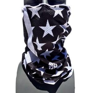 breathable mesh tube american flag facemask