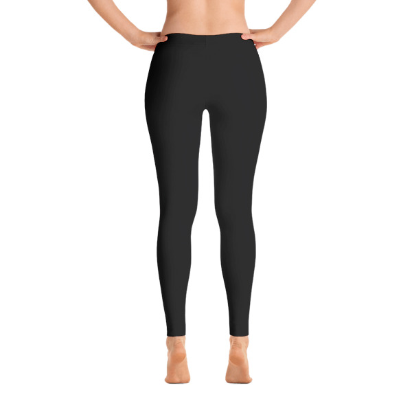 AVALON7 Standard Black Yoga leggings