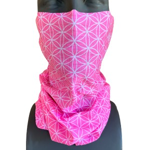 avalon7 pink necktube facecovering covid19 flower of life