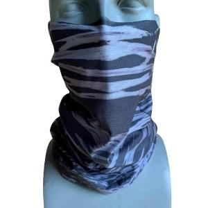 avalon7 watercamo black grey snowboarding facemask necktube