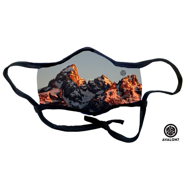 AVALON7 fitmask corona virus Teton mask 2