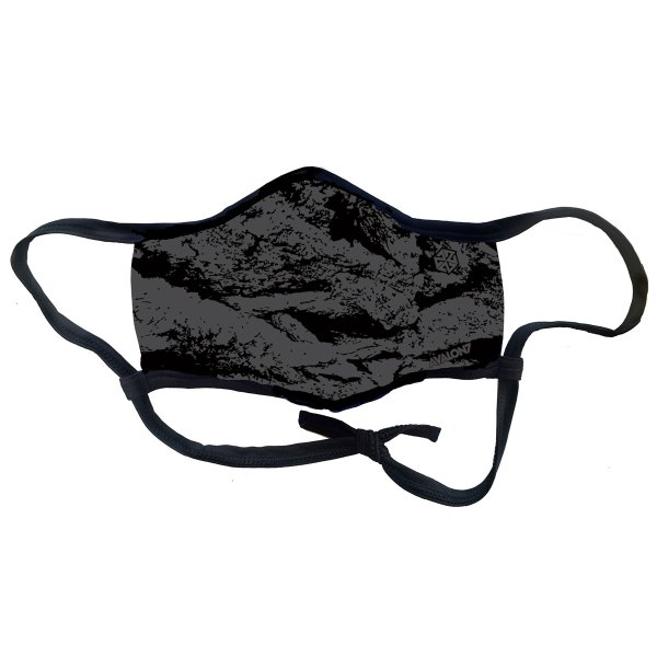 Grey and Black Camo social distancing mask from AVALON7