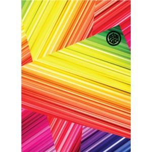 Avalon7 Rainbow Revolution Stormfleece Neck Gaiter for skiing and snowboarding
