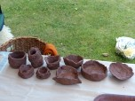 Some of the Neolithic pots