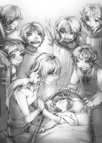 Emily heals the elves