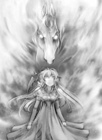 Kara meets Starfire