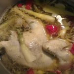 Yesterday was chicken processing day here at Avalon Farms. Today is tasty chicken soup day here at Avalon Farms. This one is mine.  You can get your own pasture raised non-GMO stewing hen at http://www.marketatdothan.com. Look under meats, poultry in the store. This week's market closes Tuesday at 5 pm.