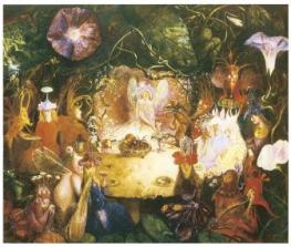 The Fairies' Banquet, John Answer Fitzgerald, 1859