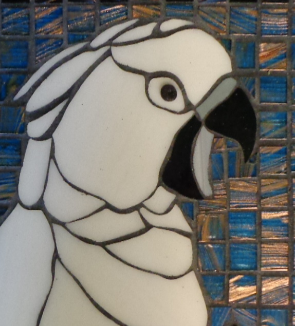 """Gilligan"" 1994 - 2014 Stained Glass Stepping Stone"