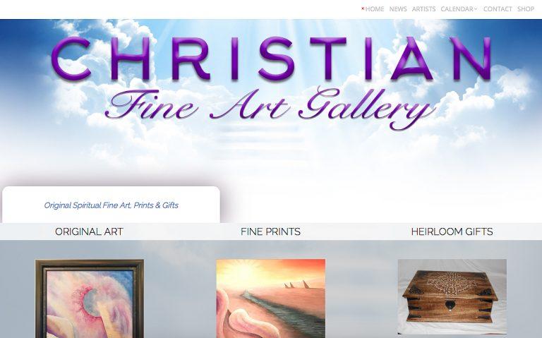 AvalonWebDesigns.com | Christian Fine Art Gallery - Website Design by KJ Burk