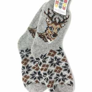 Vilnonės kojinės PK-2