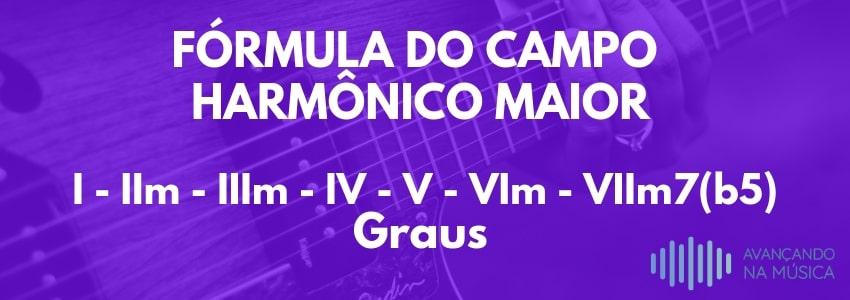 Fórmula do campo harmônico maior