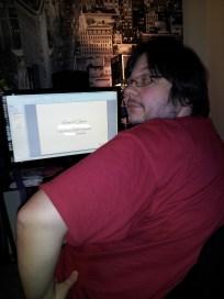 Jason is working on printing envelope labels