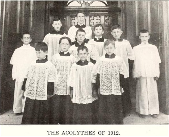 A picture of our Acolytes.
