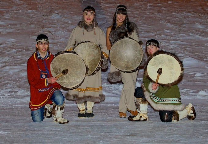 Childrens' Home Folk Ensemble in Chukotka. Photo © 2013 Galya Morrell