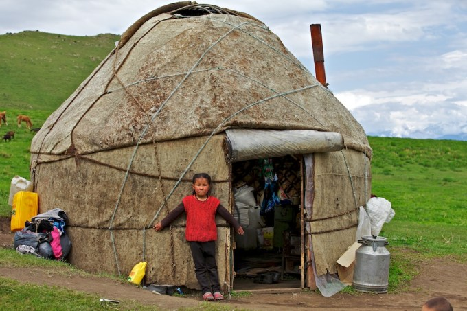 Nomads of Jumgal, Naryn. Photo © 2012 Galya Morrell