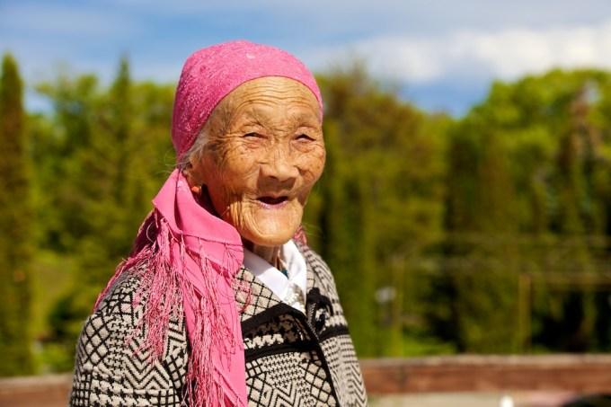 Shektikan Iskakova, an artist from Central Asia. Photo © 2012 Galya Morrell
