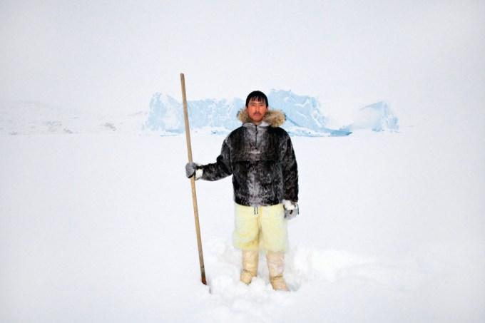 Hunter in Ikerasak, Northern Greenland. Photo © 2012 Galya Morrell