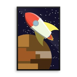 """rocket -or- build a rocket ship and we'll fly it far away"" Products"