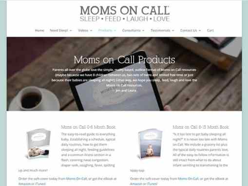 Moms on Call Website