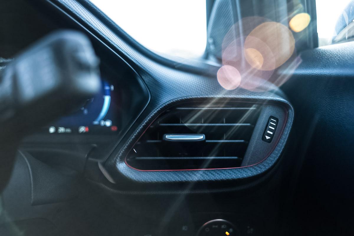 Car sales franchise photography Ford Puma interior shot
