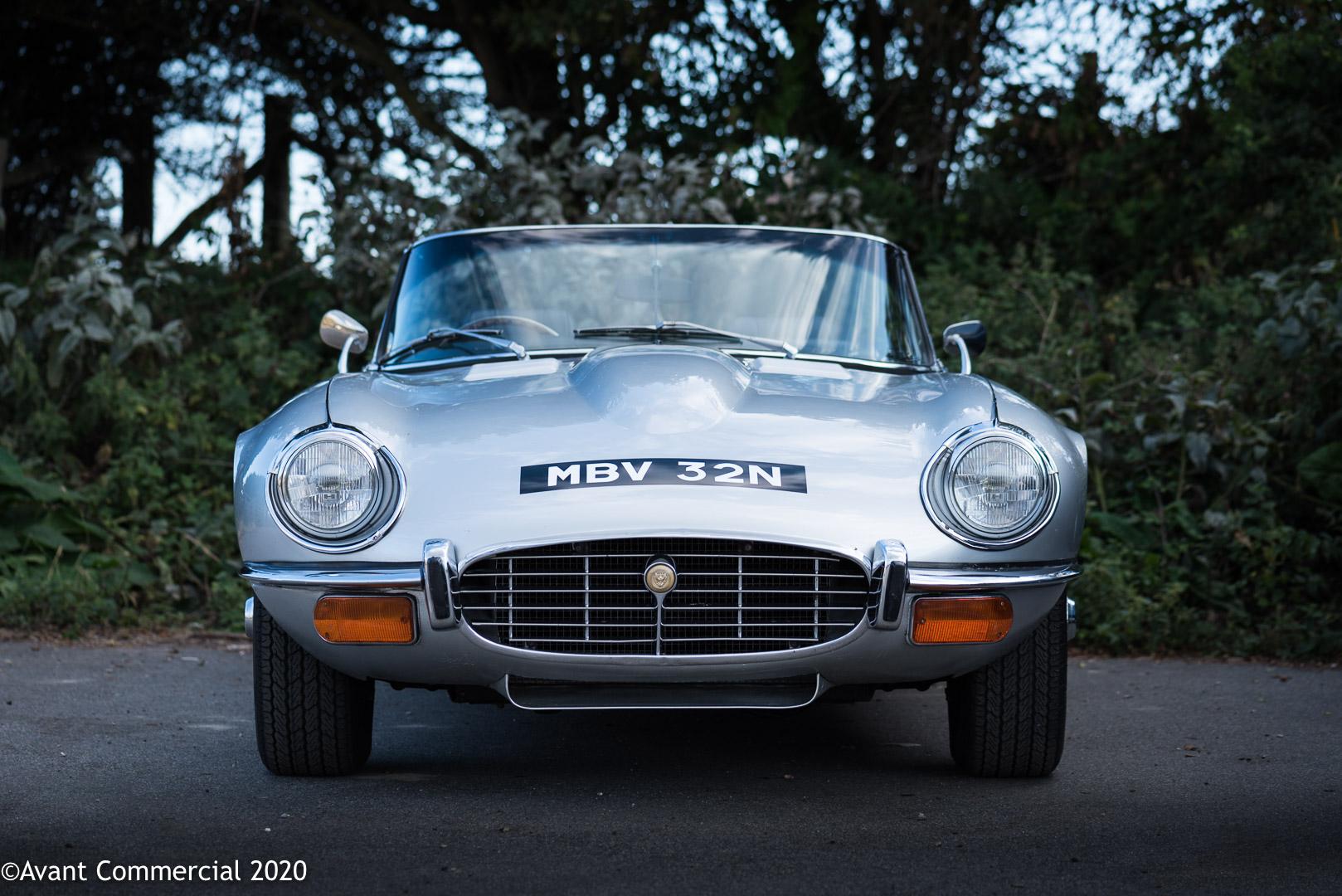 Jaguar v12 E-Type front end