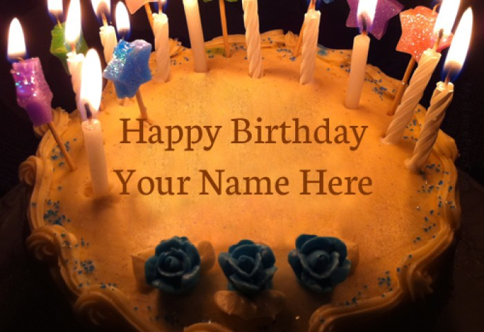 Birthday Cake Pic With Name Top Birthday Cake With Name Pics 500x500