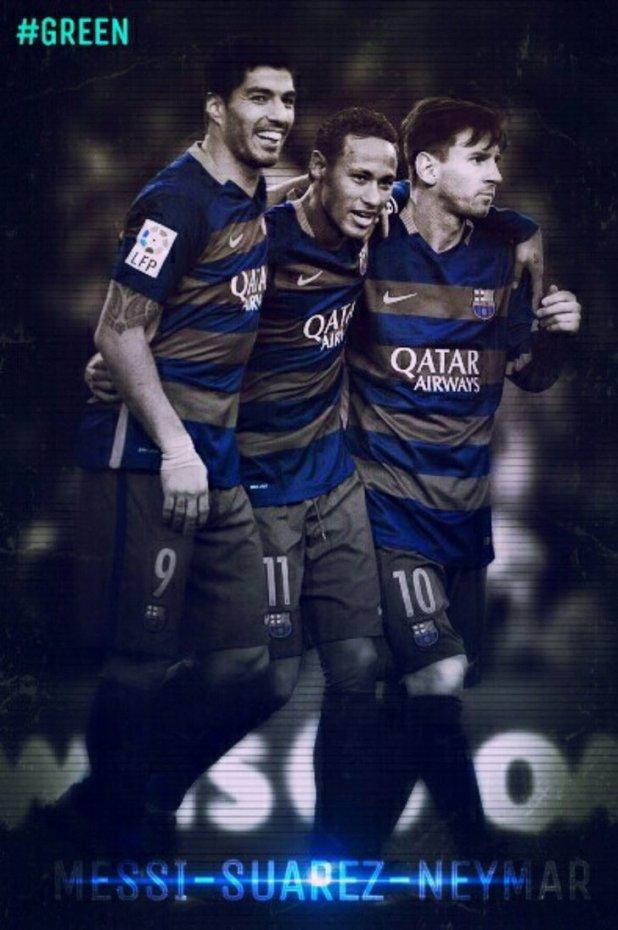 Msn Messi Neymar Suarez Wallpapers Wallpaper 728x1096