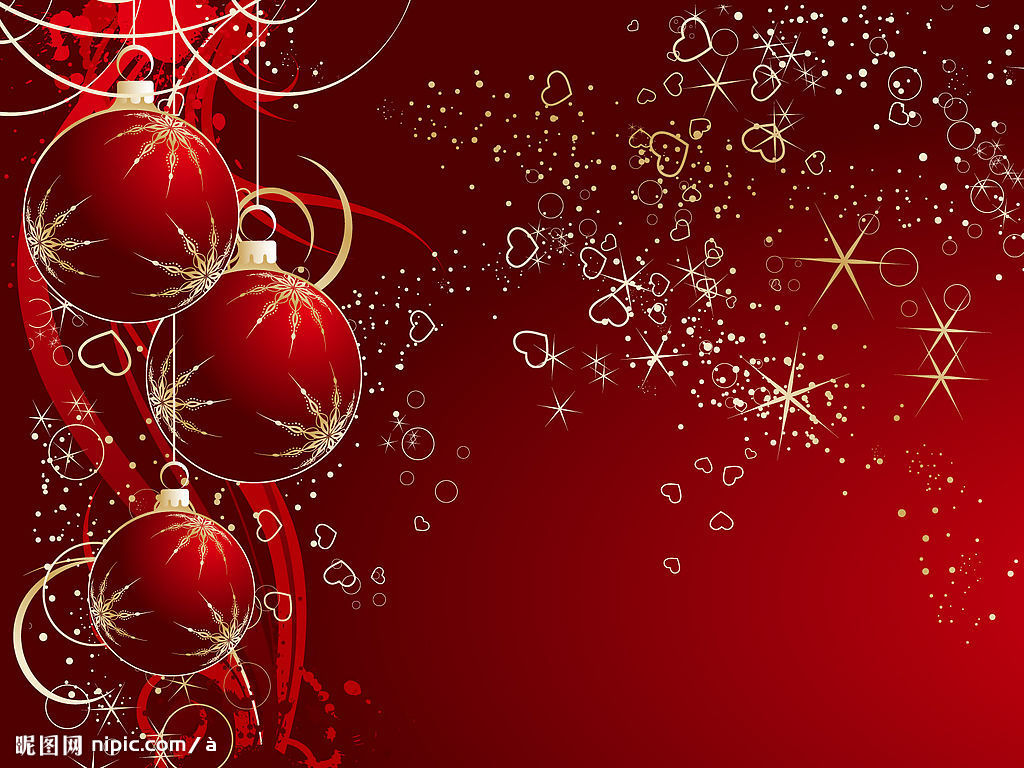 red new year wallpapers