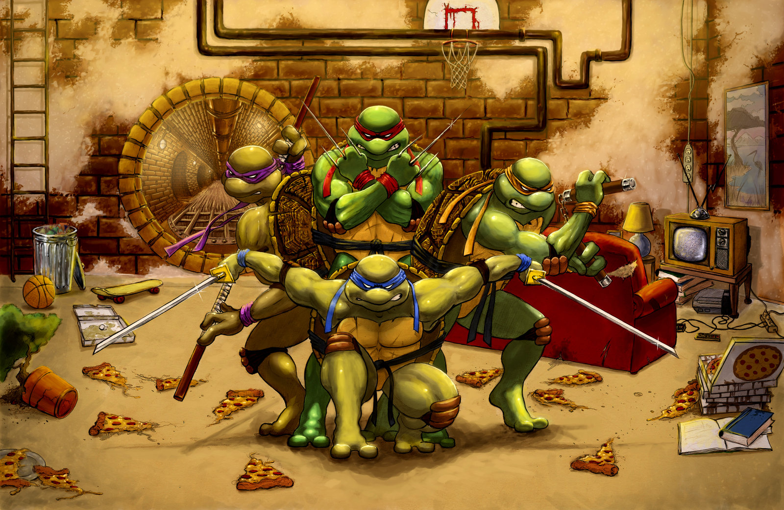 ninja turtles wallpaper (49 wallpapers) – adorable wallpapers