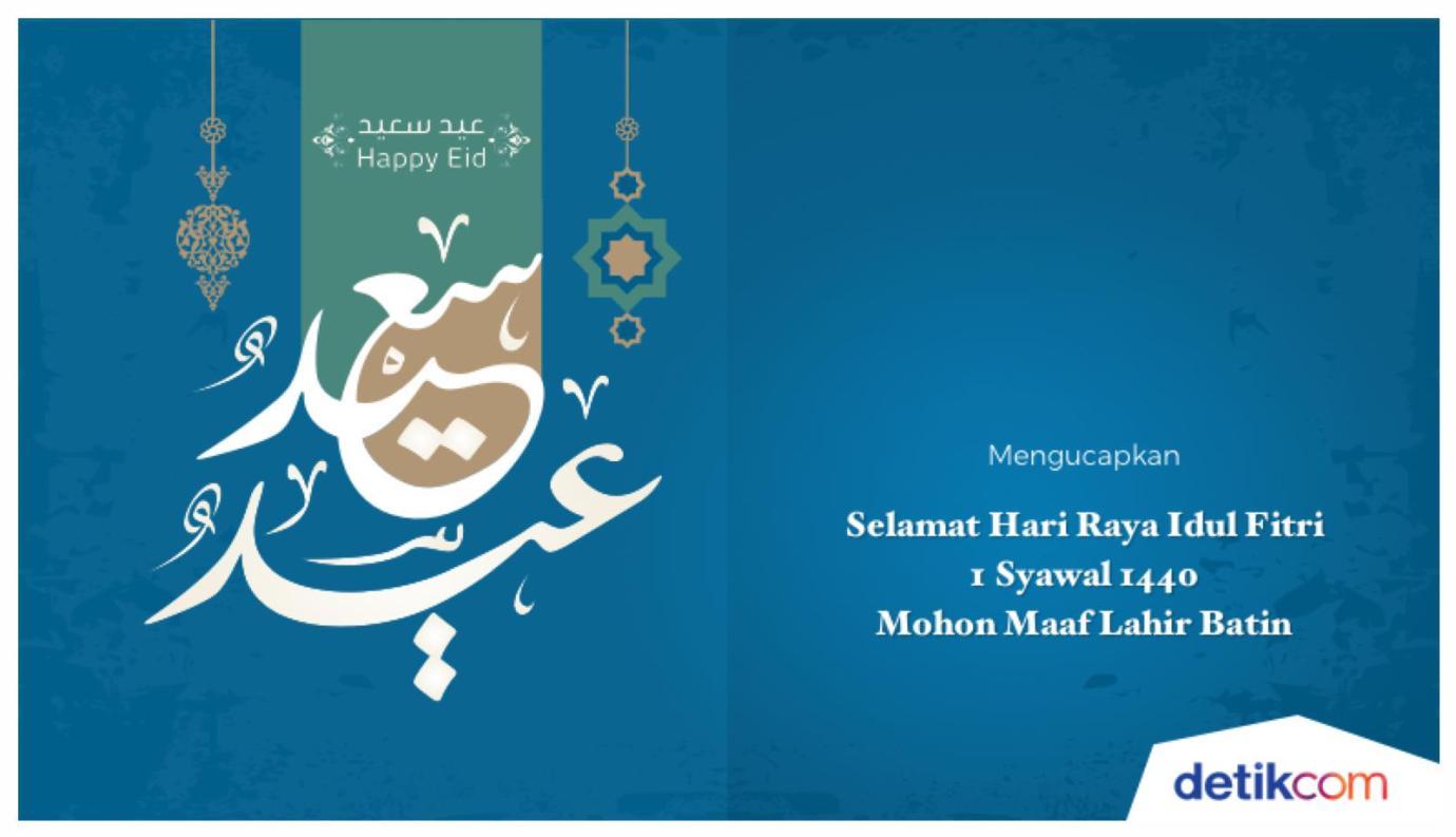 Ucapan Hari Raya Idul Fitri Dalam Bahasa Inggris Besera Id