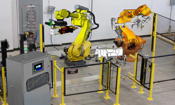 Avantek simulacion robotica