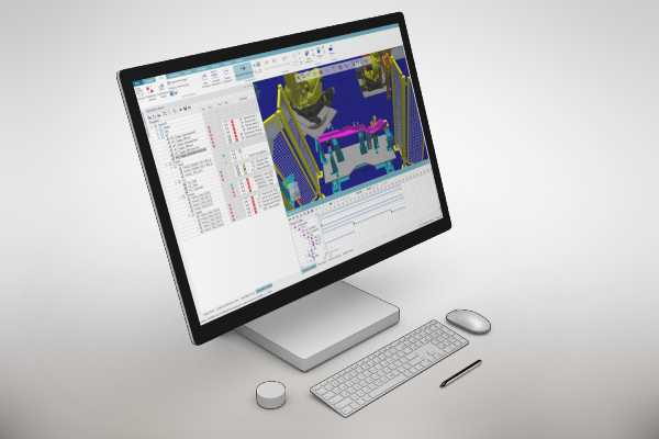 Avantek simulacion robotica tecnomatix process simulate