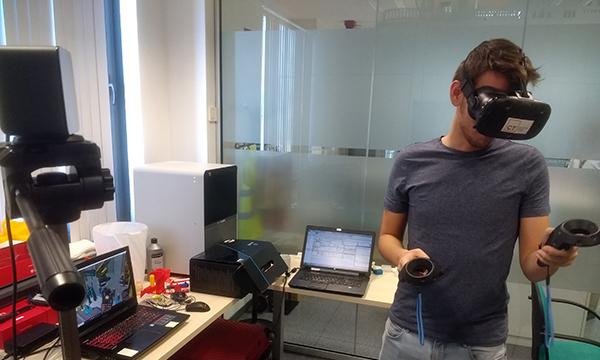 Realidade Virtual no Tecnomatix Process Simulate