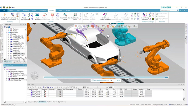 ¿No pudo participar? Visualice el webinar sobre la creación de procesos continuos con Tecnomatix Process Simulate de Siemens