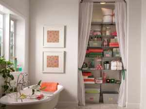 15 Bathroom Closet Ideas 2020 (Improving The Organization) 16
