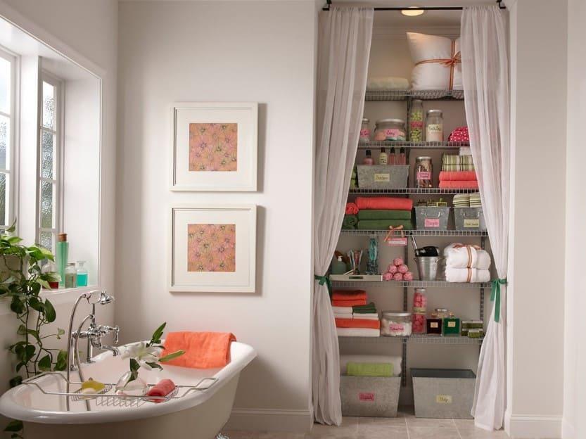 15 Bathroom Closet Ideas 2020 (Improving The Organization) 1