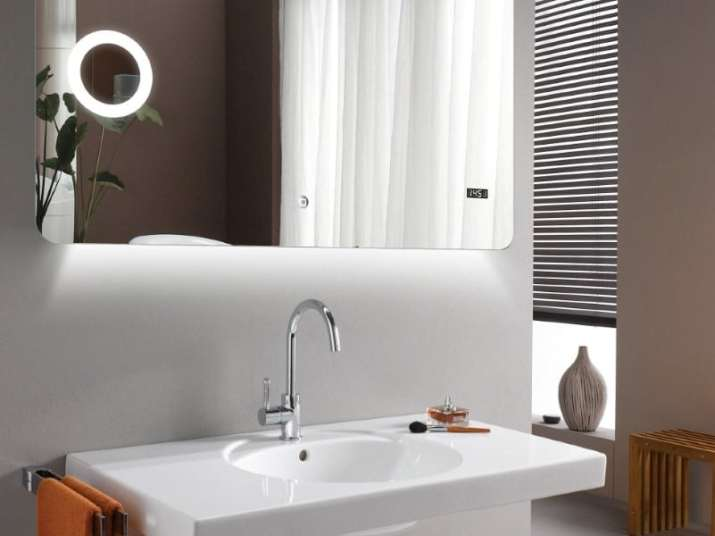 Bathroom Ceiling with Backlight