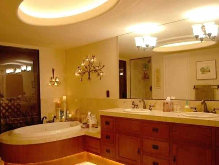 Awesome Ceiling for Master Bathroom
