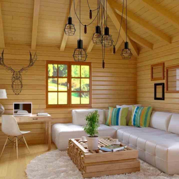 Cozy Rustic Living Room
