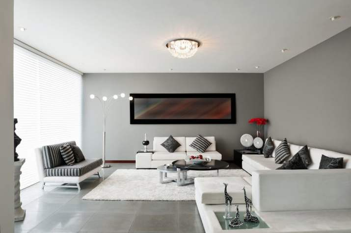 Affirmative Grey Living Room