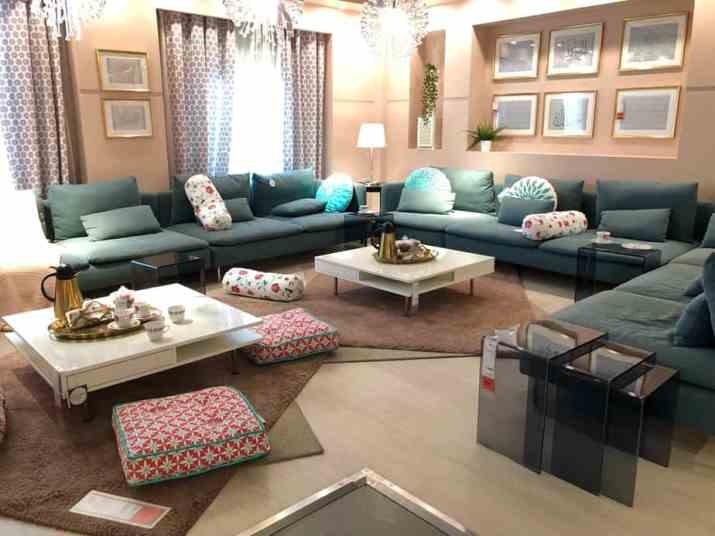 U-Shaped Large Living Room