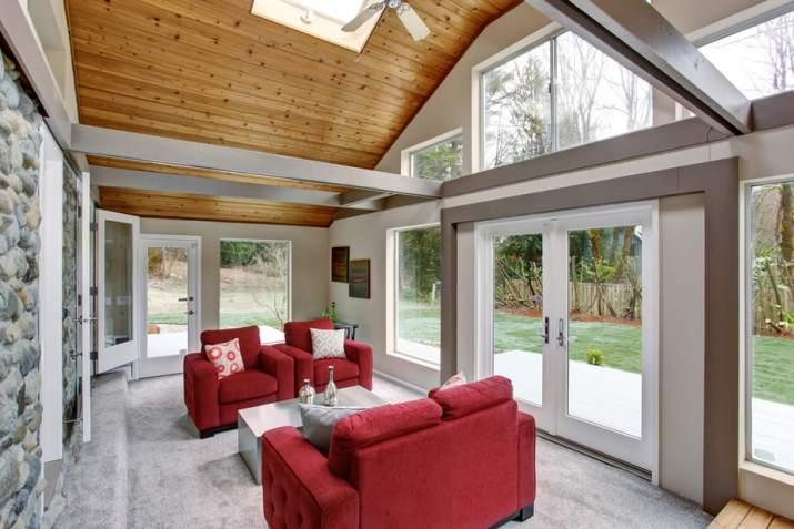 Natural Tone Large Living Room