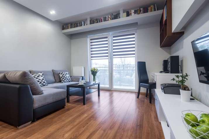 Rich Grey Living Room