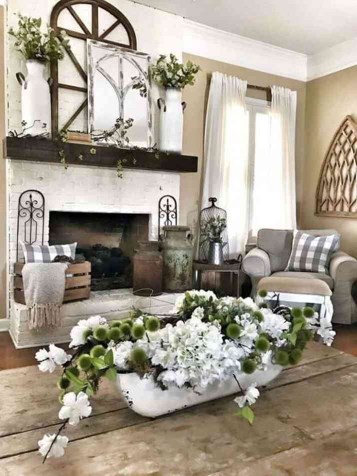 Recycled Rustic Living Room